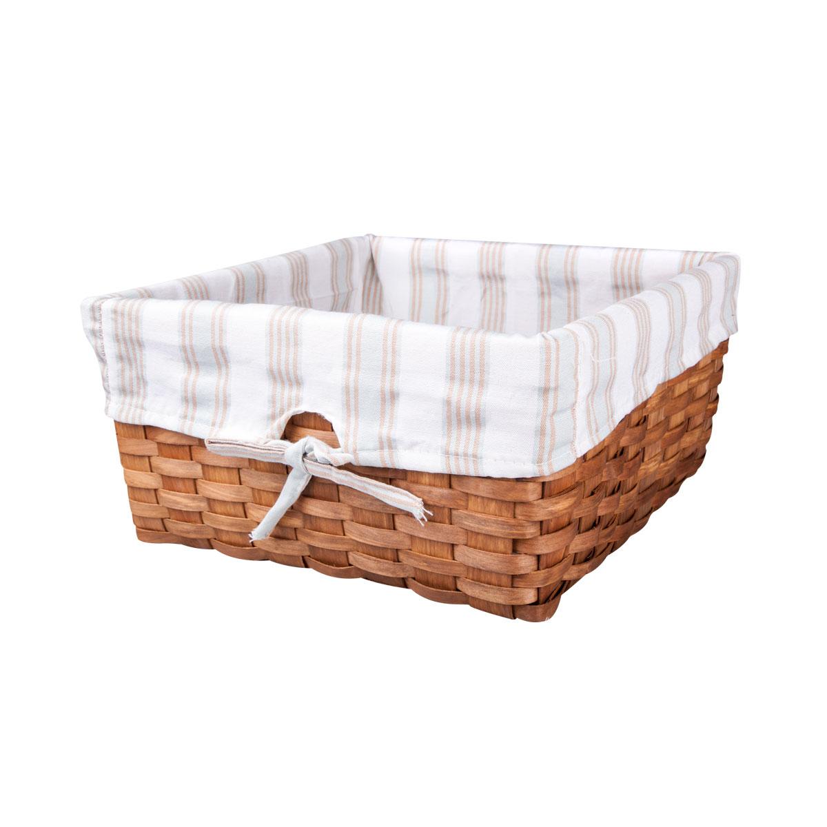 Корзина плетеная Miolla, 25 х 25 х 14 см. QL400339-MQL400339-MЛучшее решение для хранения вещей - корзина для хранения Miolla. Экономьте полезное пространство своего дома, уберите ненужные вещи в удобную корзину и используйте ее для хранения дорогих сердцу вещей, которые нужно сберечь в целости и сохранности.