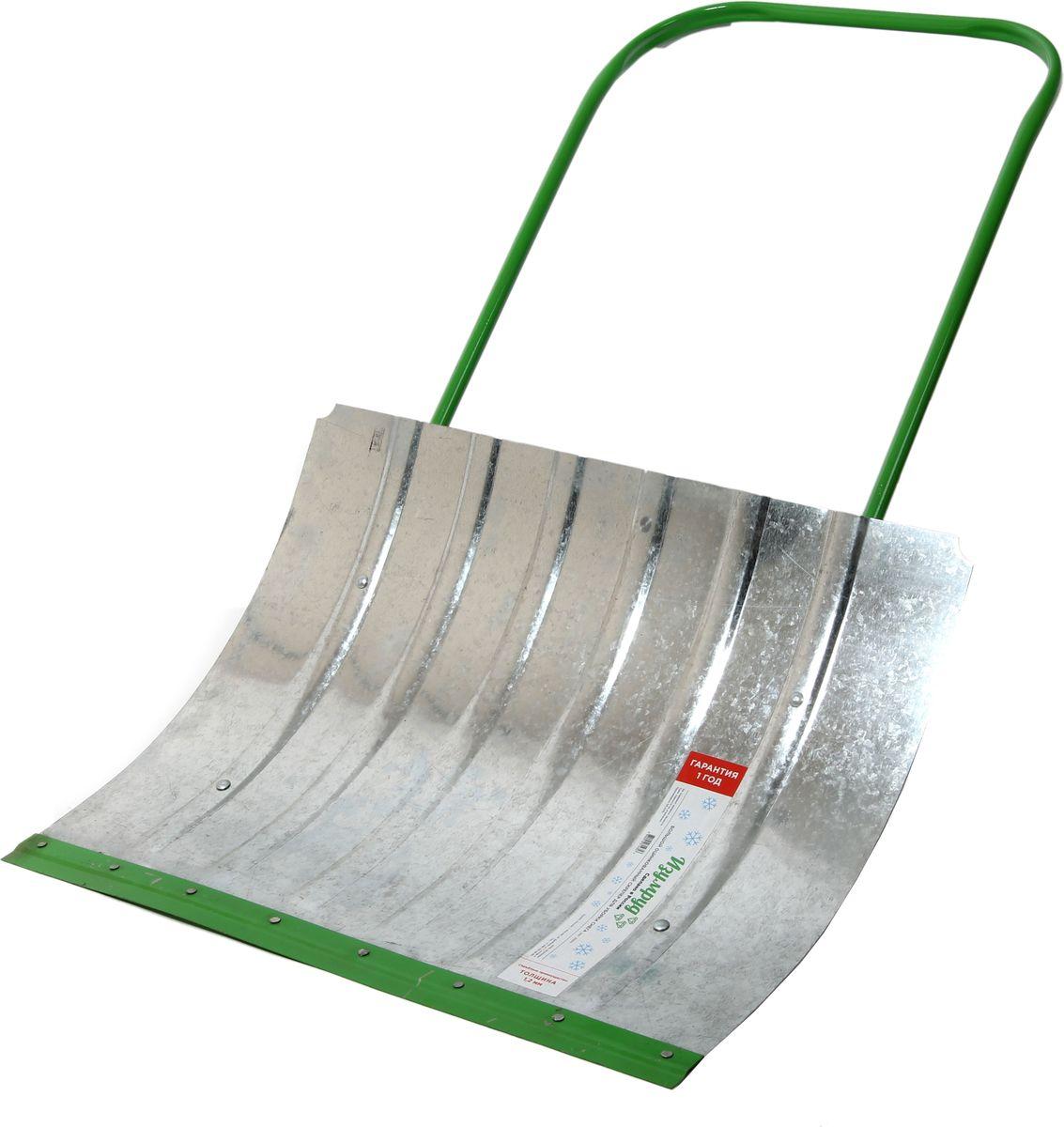 Скрепер для уборки снега Изумруд, оцинкованный, 75 x 60 см3002