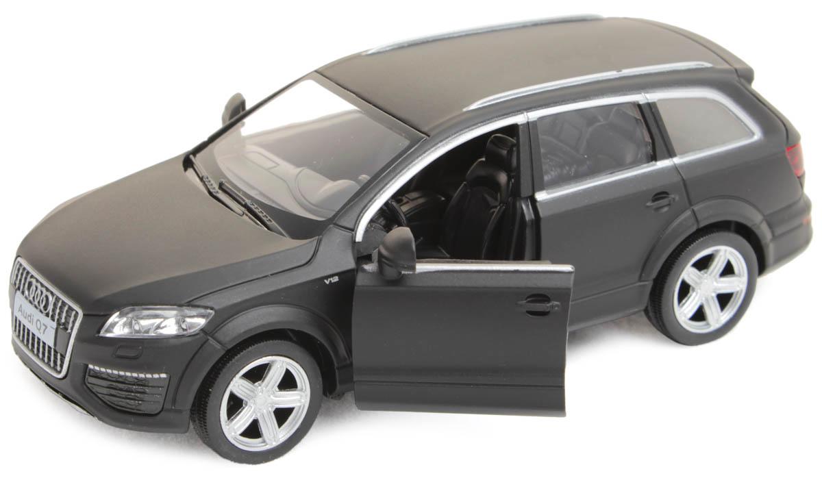 Рыжий Кот Модель автомобиля Audi Q7 V12И-1237Модель Audi Q7 V12 - миниатюрная копия настоящего автомобиля. Стильная модель автомобиля привлечет к себе внимание не только детей, но и взрослых. Это немецкое купе, без сомнения, известно всем автолюбителям. Игрушка представлена в масштабе 1:32 и является копией настоящего авто. Повышенную прочность модели обеспечивает металлический корпус. В оформлении использованы пластиковые элементы, колеса обладают свободным ходом. Такая модель станет отличным подарком не только любителю автомобилей, но и человеку, ценящему оригинальность и изысканность, а качество исполнения представит такой подарок в самом лучшем свете.