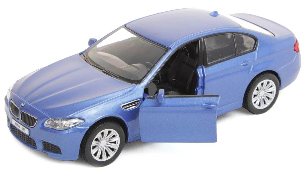 Рыжий Кот Модель автомобиля BMW M5И-1219Игрушка представлена в масштабе 1:32 и является копией настоящего авто. Поэтому с такой машинкой можно не только играть, но и сделать её частью автомобильной коллекции. У данной модели открываются передние двери! Цвета: глянцевый синий, белый. Рекомендована для детей от 3 лет.