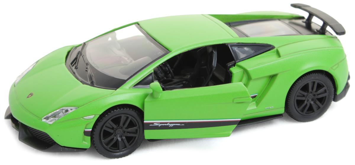 Рыжий Кот Модель автомобиля Lamborghini И-1238И-1238Модель Chevrolet И-1238 - миниатюрная копия настоящего автомобиля. Стильная модель автомобиля привлечет к себе внимание не только детей, но и взрослых. Этот автомобиль, без сомнения, известен всем автолюбителям. Игрушка представлена в масштабе 1:32 и является копией настоящего авто. Повышенную прочность модели обеспечивает металлический корпус. В оформлении использованы пластиковые элементы, колеса обладают свободным ходом. Такая модель станет отличным подарком не только любителю автомобилей, но и человеку, ценящему оригинальность и изысканность, а качество исполнения представит такой подарок в самом лучшем свете.