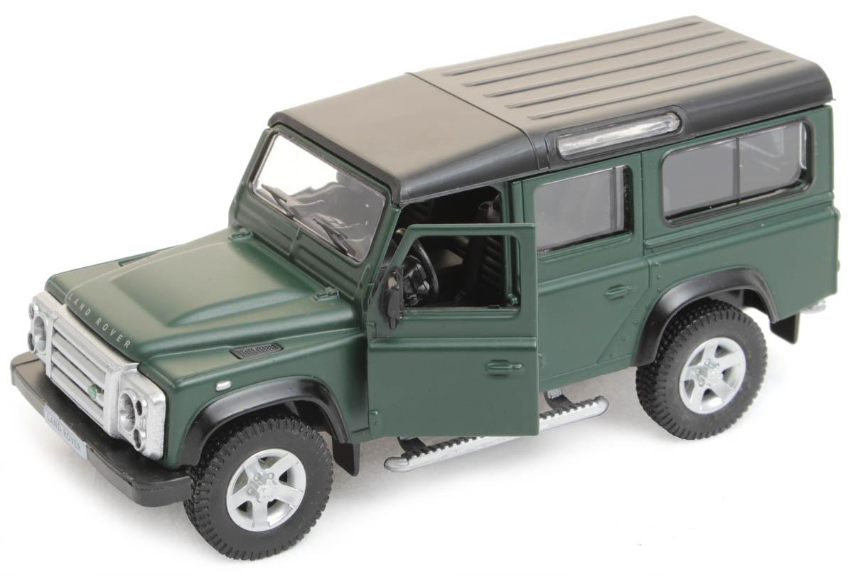 Рыжий Кот Модель автомобиля Land RoverИ-1208Модель Land Rover - миниатюрная копия настоящего автомобиля. Стильная модель автомобиля привлечет к себе внимание не только детей, но и взрослых. Этот автомобиль, без сомнения, известен всем автолюбителям. Игрушка представлена в масштабе 1:32 и является копией настоящего авто. Повышенную прочность модели обеспечивает металлический корпус. В оформлении использованы пластиковые элементы, колеса обладают свободным ходом. Такая модель станет отличным подарком не только любителю автомобилей, но и человеку, ценящему оригинальность и изысканность, а качество исполнения представит такой подарок в самом лучшем свете.