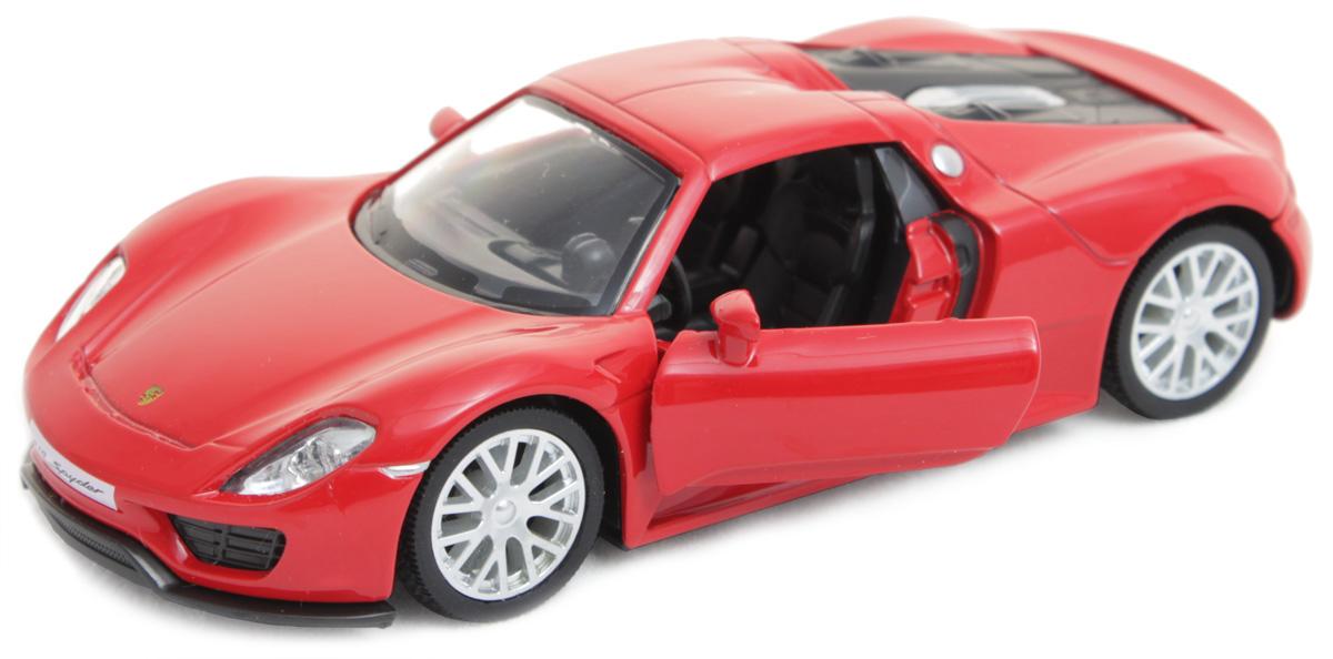 Рыжий Кот Модель автомобиля Porsche 918И-1230Игрушка представлена в масштабе 1:32 и является копией настоящего авто. Поэтому с такой машинкой можно не только играть, но и сделать её частью автомобильной коллекции. У данной модели открываются передние двери! Рекомендована для детей от 3 лет. Цвет: глянцевый красный, серый.