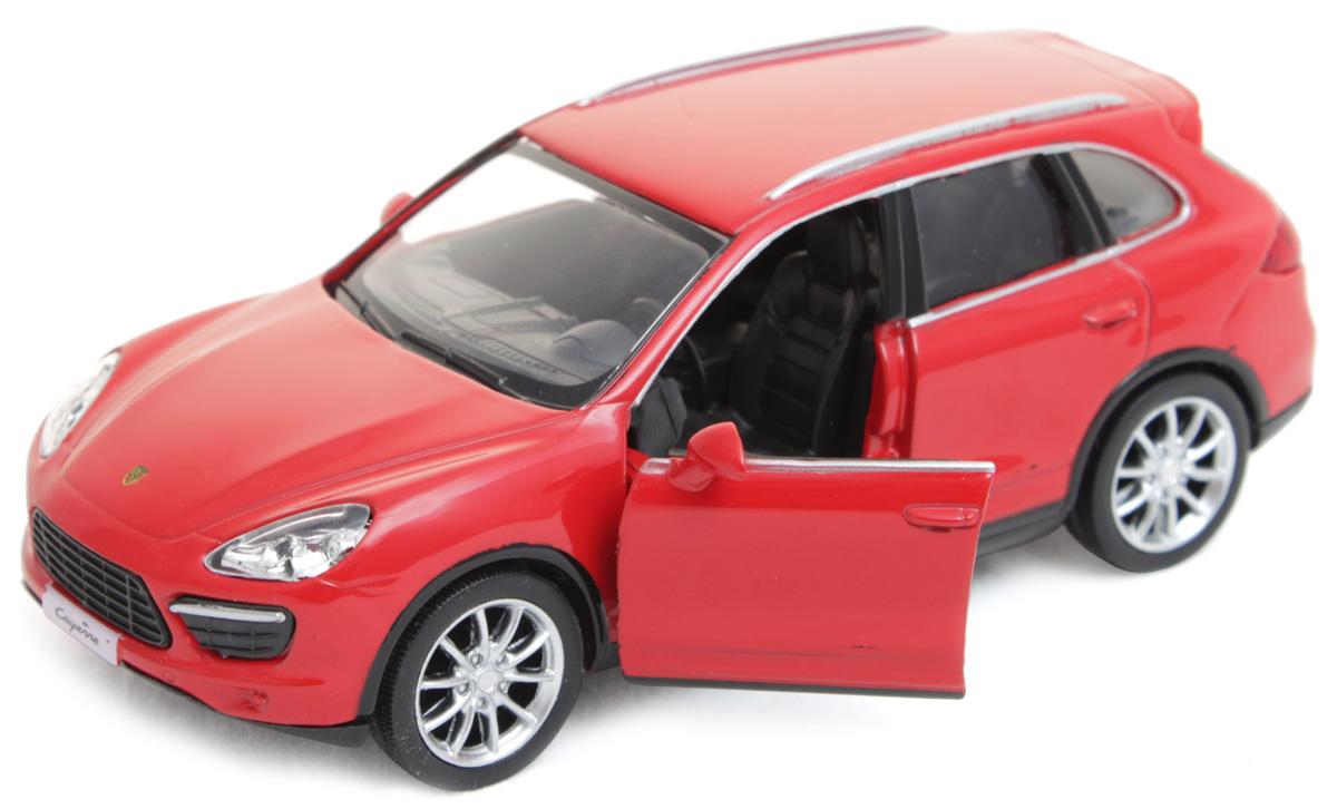 Рыжий Кот Модель автомобиля Porsche CayenneИ-1205Модель Porsche Cayenne - миниатюрная копия настоящего автомобиля. Стильная модель автомобиля привлечет к себе внимание не только детей, но и взрослых. Этот автомобиль, без сомнения, известен всем автолюбителям. Игрушка представлена в масштабе 1:32 и является копией настоящего авто. Повышенную прочность модели обеспечивает металлический корпус. В оформлении использованы пластиковые элементы, колеса обладают свободным ходом. Такая модель станет отличным подарком не только любителю автомобилей, но и человеку, ценящему оригинальность и изысканность, а качество исполнения представит такой подарок в самом лучшем свете.
