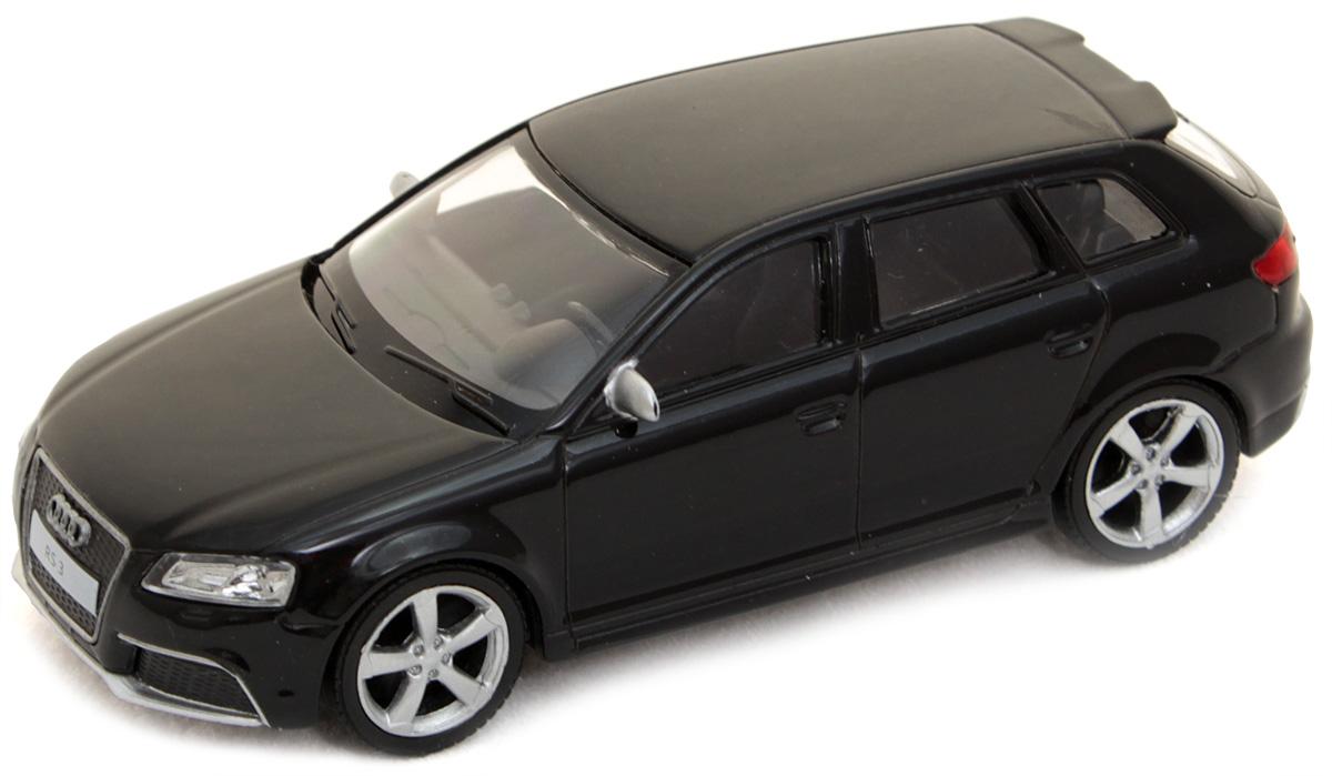 Рыжий Кот Модель автомобиля Audi RS3 Sportback цвет черныйИ-1196Модель Audi RS3 - миниатюрная копия настоящего автомобиля. Стильная модель автомобиля привлечет к себе внимание не только детей, но и взрослых. Это немецкое купе, без сомнения, известно всем автолюбителям. Игрушка представлена в масштабе 1:43 и является копией настоящего авто. Повышенную прочность модели обеспечивает металлический корпус. В оформлении использованы пластиковые элементы, колеса обладают свободным ходом. Такая модель станет отличным подарком не только любителю автомобилей, но и человеку, ценящему оригинальность и изысканность, а качество исполнения представит такой подарок в самом лучшем свете.