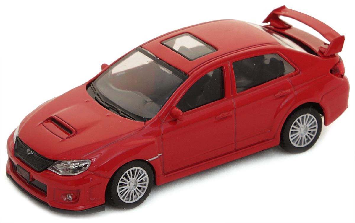 Рыжий Кот Модель автомобиля Subaru WRX STI И-1195И-1195Модель Subaru WRX STI И-1195 - миниатюрная копия настоящего автомобиля. Стильная модель автомобиля привлечет к себе внимание не только детей, но и взрослых. Этот автомобиль, без сомнения, известен всем автолюбителям. Игрушка представлена в масштабе 1:43 и является копией настоящего авто. Повышенную прочность модели обеспечивает металлический корпус. В оформлении использованы пластиковые элементы, колеса обладают свободным ходом. Такая модель станет отличным подарком не только любителю автомобилей, но и человеку, ценящему оригинальность и изысканность, а качество исполнения представит такой подарок в самом лучшем свете.