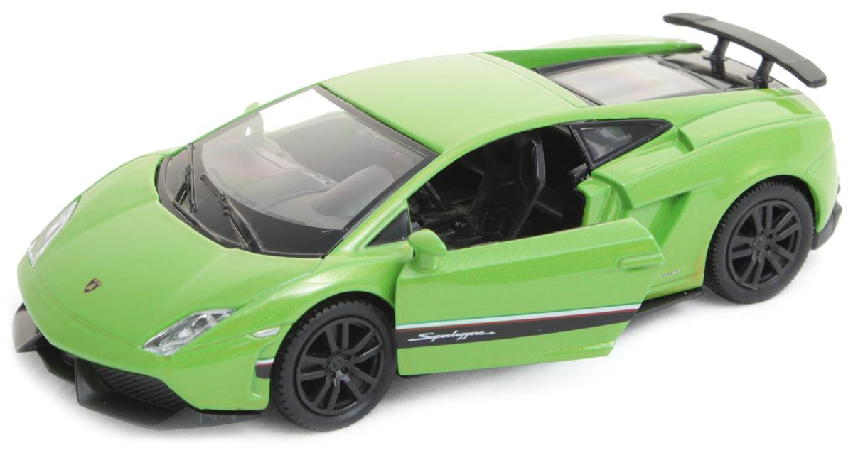 Рыжий Кот Модель автомобиля Lamborghini И-1204И-1204Модель Chevrolet И-1218 - миниатюрная копия настоящего автомобиля. Стильная модель автомобиля привлечет к себе внимание не только детей, но и взрослых. Этот автомобиль, без сомнения, известен всем автолюбителям. Игрушка представлена в масштабе 1:32 и является копией настоящего авто. Повышенную прочность модели обеспечивает металлический корпус. В оформлении использованы пластиковые элементы, колеса обладают свободным ходом. Такая модель станет отличным подарком не только любителю автомобилей, но и человеку, ценящему оригинальность и изысканность, а качество исполнения представит такой подарок в самом лучшем свете.