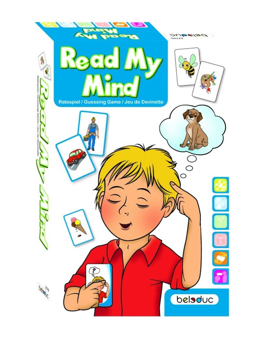 Beleduc Обучающая игра Прочти мои мысли22740Вы когда-нибудь могли себе представить, что умеете читать мысли других? Сконцентрируйтесь, задавайте правильные вопросы и у вас все получится! Внимательно смотря изображения, правильно задавая вопросы, а также называя верные ассоциации, ребенок сможет отгадать виды различных животных, транспорта, а также людей, изображенных на карточках.