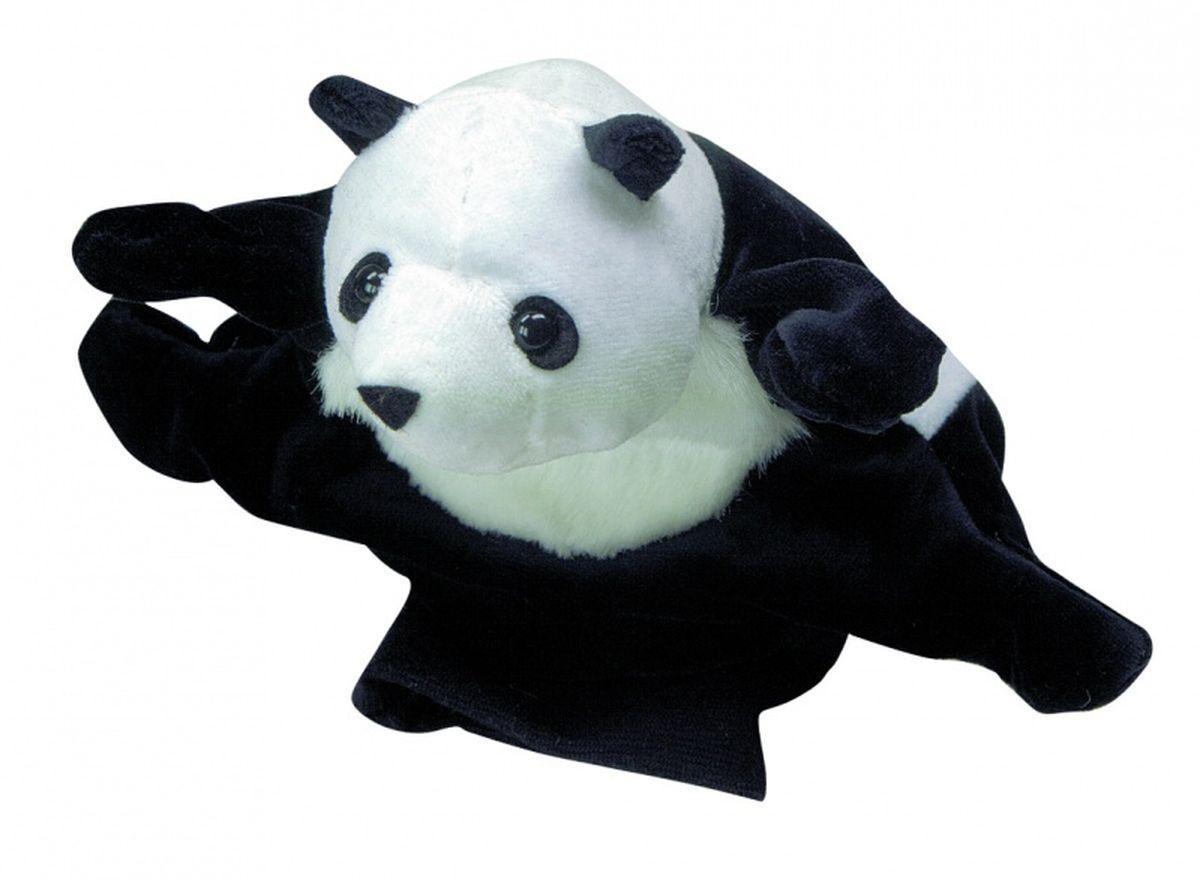 Beleduc Кукла на руку Панда40038Плюшевая игрушка «Панда» - это очаровательная мягкая игрушка, выполненная в виде забавного зверька, вызовет умиление и улыбку у каждого, кто ее увидит. Она станет замечательным подарком, как ребенку, так и взрослому. Игрушка удивительно приятна на ощупь и способствуют развитию мелкой моторики рук малыша. Мягкая игрушка может стать милым подарком, а может быть и лучшим другом на все времена. Способствует развитию логического и образного мышления, учит различать предметы по цвету и размеру, развивает мелкую моторику рук.