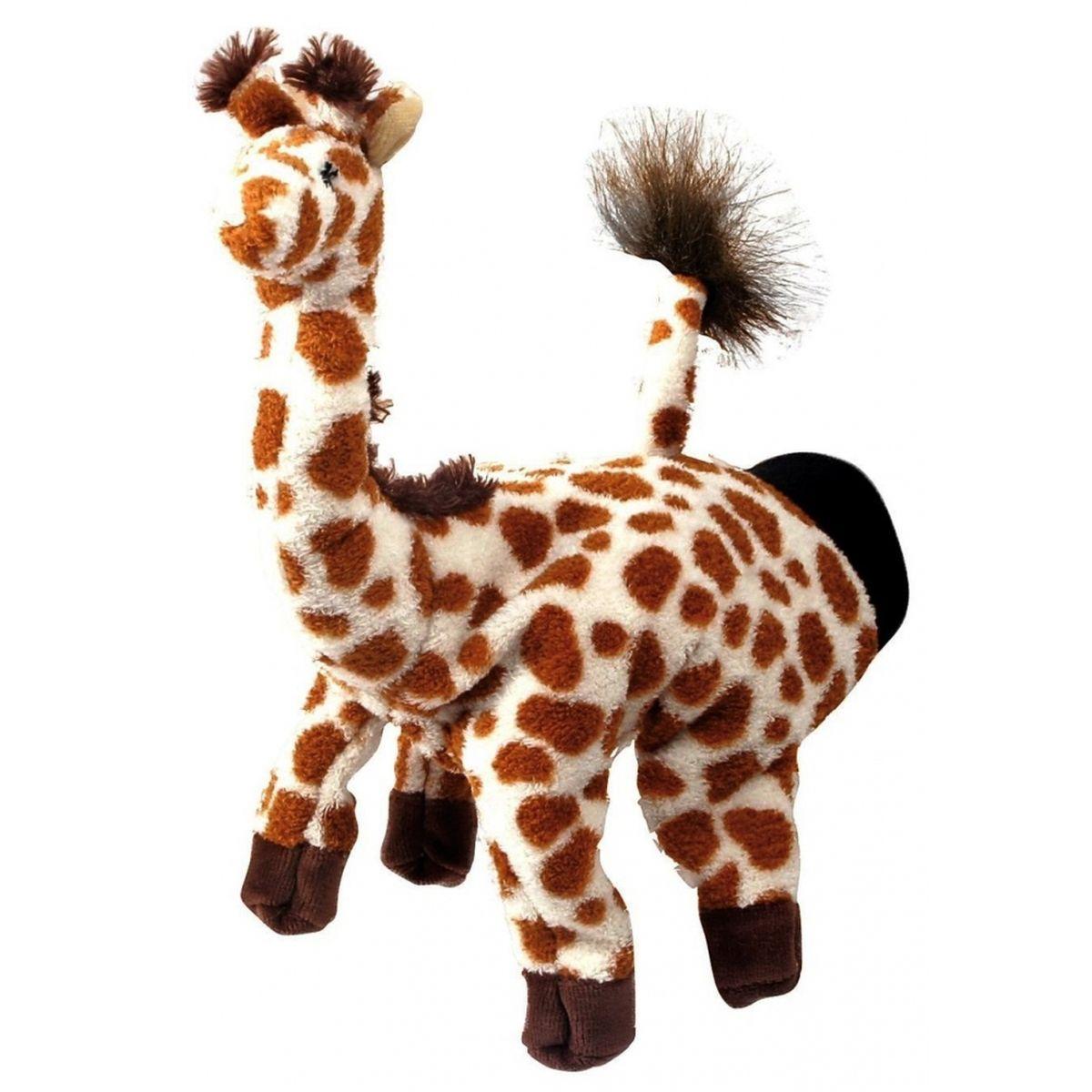 Beleduc Кукла на руку Жираф40103Плюшевая игрушка «Жираф» - это очаровательная мягкая игрушка, выполненная в виде забавного зверька, вызовет умиление и улыбку у каждого, кто ее увидит. Она станет замечательным подарком, как ребенку, так и взрослому. Игрушка удивительно приятна на ощупь и способствуют развитию мелкой моторики рук малыша. Мягкая игрушка может стать милым подарком, а может быть и лучшим другом на все времена. Способствует развитию логического и образного мышления, учит различать предметы по цвету и размеру, развивает мелкую моторику рук.