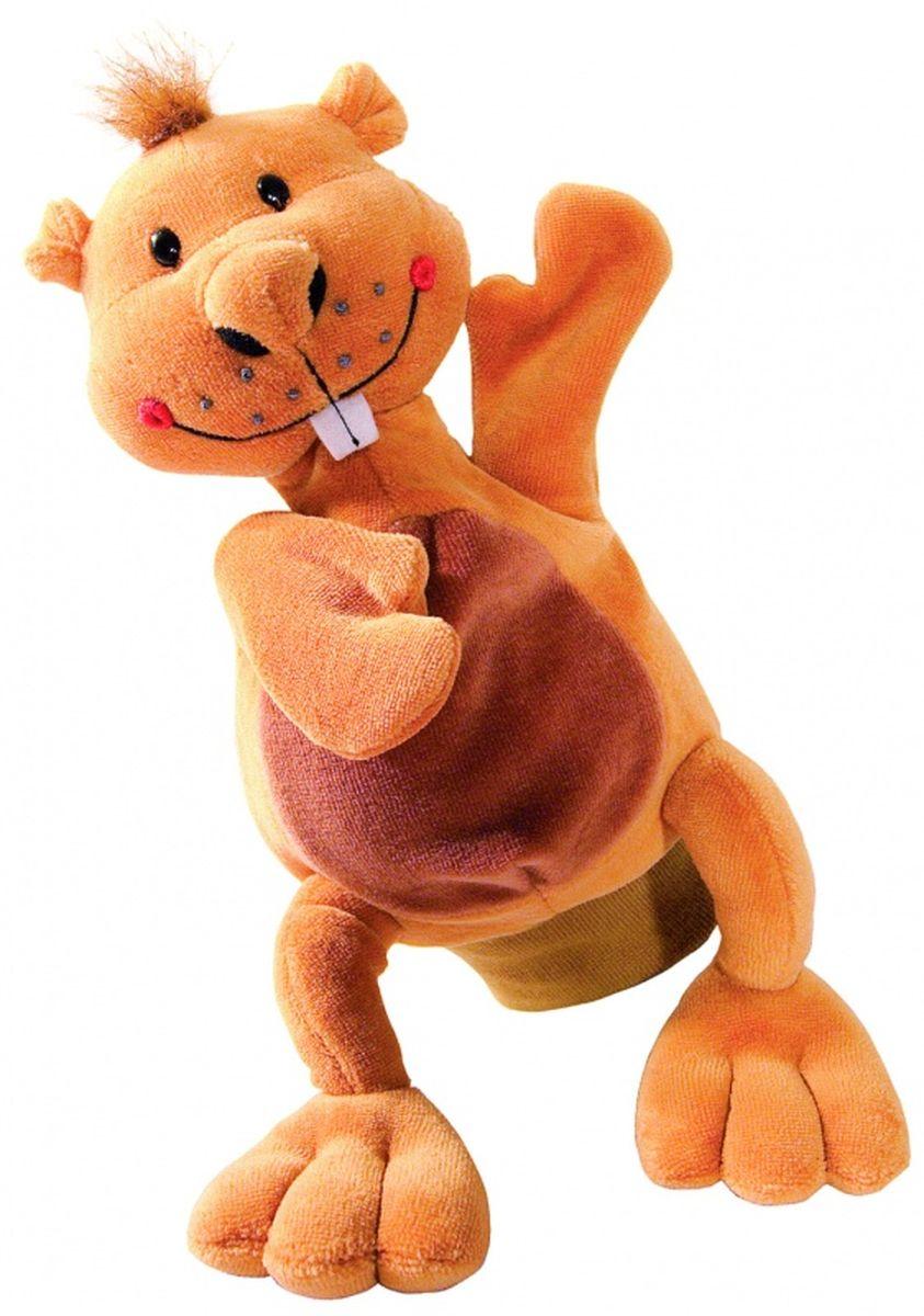 Beleduc Кукла на руку Бобер40281Плюшевая игрушка «Бобер» - это очаровательная мягкая игрушка, выполненная в виде забавного зверька, вызовет умиление и улыбку у каждого, кто ее увидит. Она станет замечательным подарком, как ребенку, так и взрослому. Игрушка удивительно приятна на ощупь и способствуют развитию мелкой моторики рук малыша. Мягкая игрушка может стать милым подарком, а может быть и лучшим другом на все времена. Способствует развитию логического и образного мышления, учит различать предметы по цвету и размеру, развивает мелкую моторику рук.