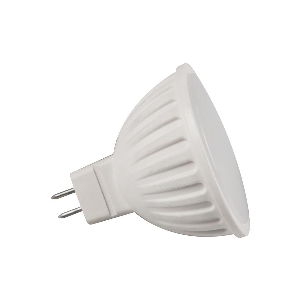 Лампа светодиодная Lieberg, нейтральный свет, цоколь GU5.3, 7WL0104040Светодиодная лампа (рефлектор) LIEBERG мощностью 7Вт - это инновационный и экологичный источник света, позволяющий сэкономить до 90% на электроэнергии. Лампа не пульсирует, ресурс составляет 40 000 часов работы. Угол свечения 120°. Эффективный драйвер обеспечивает стабильную работу при резких перепадах входного напряжения (175 -265В). Область применения: общее, локальное и аварийное освещение.