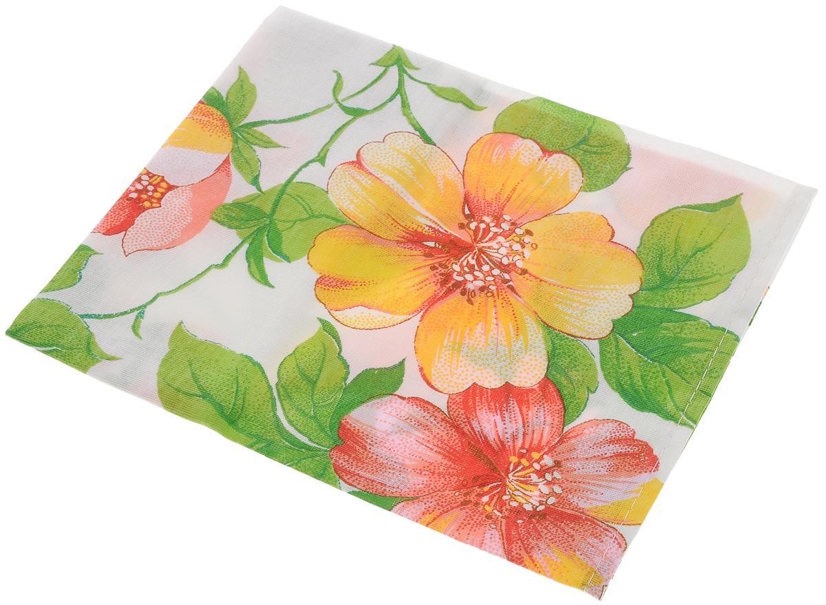 Полотенце кухонное Roko Яблоневые цветы, 60 х 30 см115354_белый, зеленый, красныйКухонное полотенце Roko Яблоневые цветы, выполненное из 100% хлопка, оформлено оригинальным принтом. Изделие предназначено для использования на кухне и в столовой. Оно отлично впитывает влагу, быстро сохнет, сохраняет яркость цвета и не теряет форму даже после многократных стирок. Такое полотенце станет отличным вариантом для практичной и современной хозяйки. Рекомендуется стирка при температуре 40°C. Уважаемые клиенты! Товар поставляется в цветовом ассортименте. Поставка осуществляется в зависимости от наличия на складе.