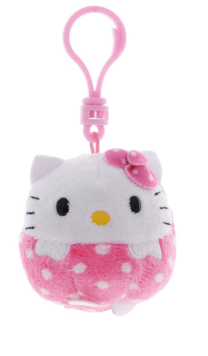 TY Мягкая игрушка-брелок Hello Kitty38330Мягкая игрушка-брелок TY Hello Kitty всегда будет с вами! С помощью карабина игрушку можно пристегнуть на пояс, к рюкзаку, сумке или повесить на связку ключей. Удивительно мягкая игрушка-брелок, выполненная в виде всеми любимой кошечки Китти, принесет радость своему обладателю, а специальные гранулы, используемые при ее набивке, помогут в развитии мелкой моторики рук малыша. Это отличный подарок как для детей, так и для взрослых!