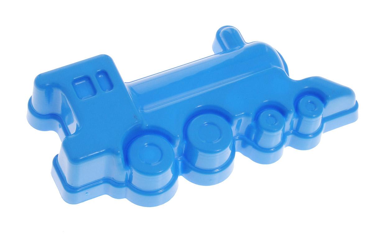 Zebratoys Формочка для песочницы Паровоз15-1Ф_синий паровозЯркая формочка для песочницы Zebratoys Паровоз, изготовленная из прочного и безопасного пластика, доставит много радости вашему малышу. С ней ребенок сможет лепить из песка паровозики. Игрушка эргономична, удобна для детской ручки, не скользит. С такой формочкой ваш малыш будет часами занят игрой.