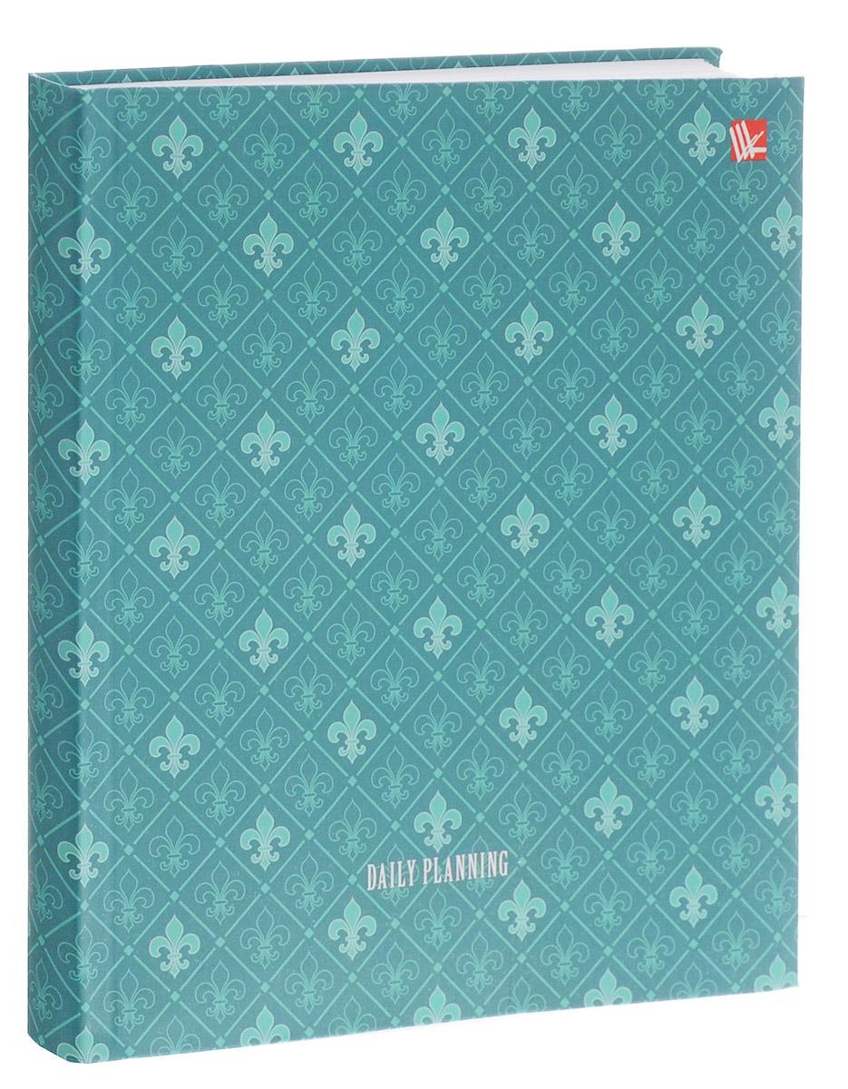 Listoff Ежедневник Орнамент недатированный 128 листов цвет бирюзовый