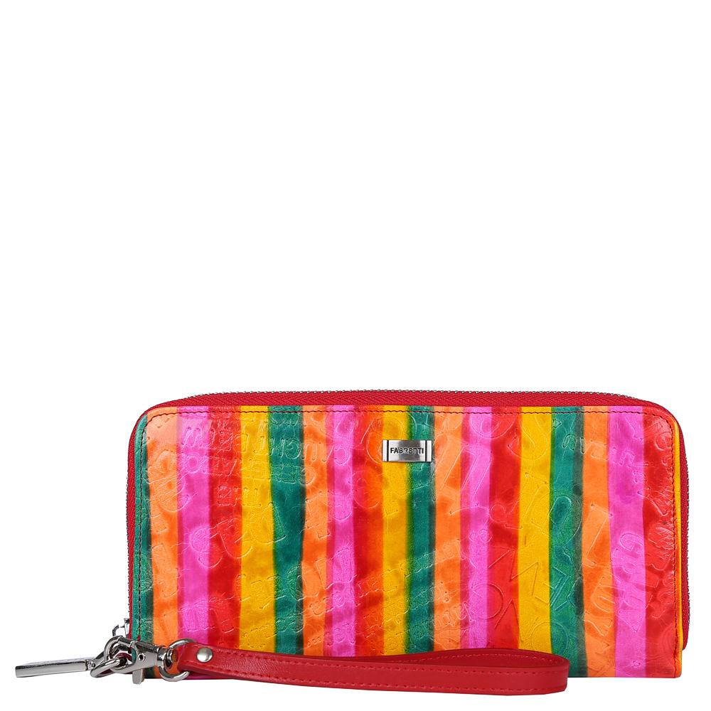 Кошелек женский Fabretti, цвет: мультиколор. 77006-1 colorful77006-1 colorful