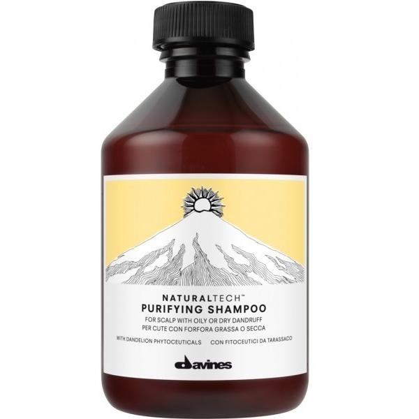 Davines Очищающий шампунь против перхоти New Natural Tech Purifying Shampoo, 100 мл