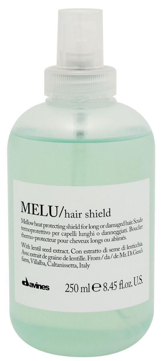 Davines Термозащитный несмываемый спрей против повреждения волос Essential Haircare New Melu Hair Shield, 250 мл