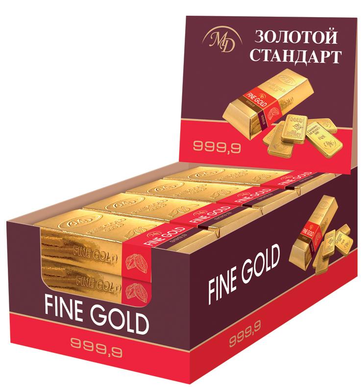 Монетный двор Слитки Золотой стандарт, 60 г