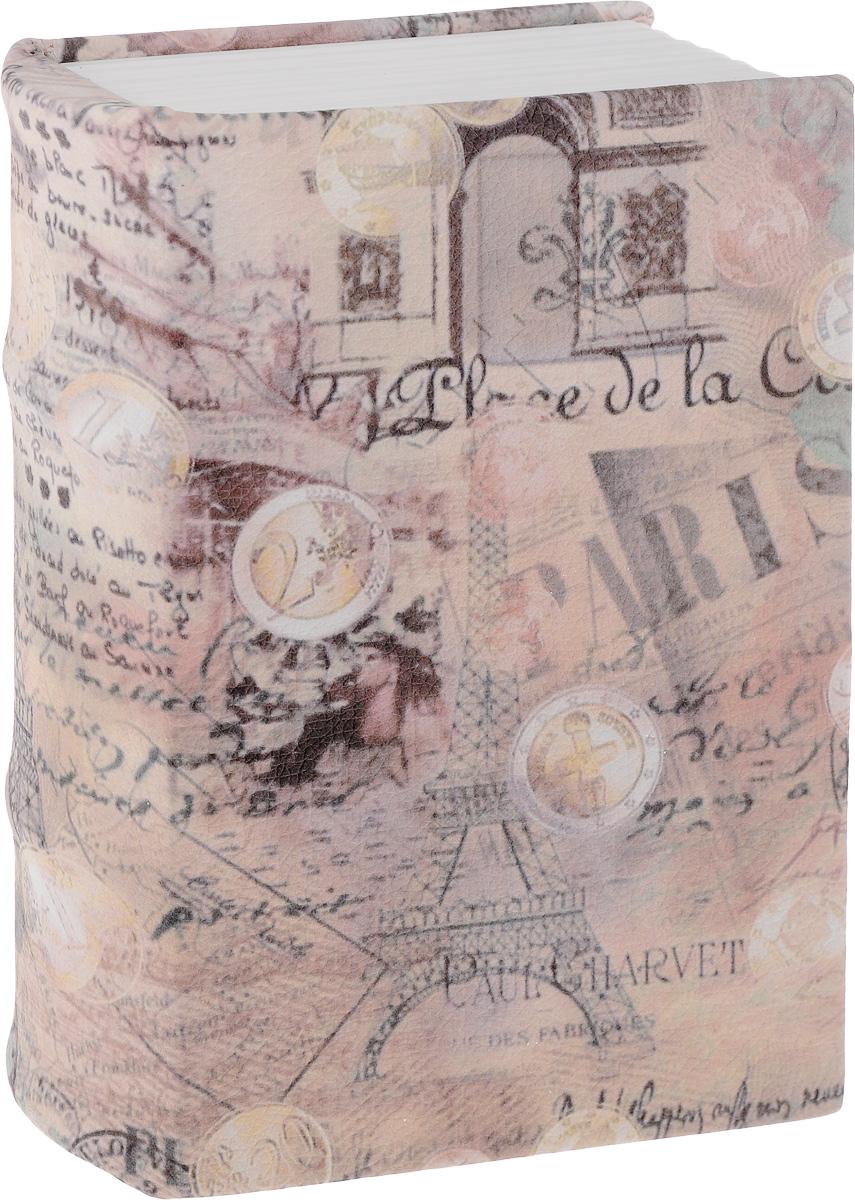 Книга-сейф Win Max Париж, 19 х 13 х 6 см184412Книга-сейф Win Max Париж - необычное и весьма полезное изобретение человечества. В ней умело сочетаются несколько функций одновременно: это и секретный тайник, и надежная копилка, и прикольный, хоть и неприметный на первый взгляд аксессуар. Помните, как в старые времена сбережения хранили в книжках? Как известно, все новое - это хорошо забытое старое, только усовершенствованное. С виду это обычная книга, а внутри - объемная шкатулка, которая закрывается на замок. Сейф в виде книги надежно сбережет ваши ценности. Тайник запирается на замок, в комплекте идет 2 ключа. Сейф внутри книги - металлический, обложка - из высококачественного картона.