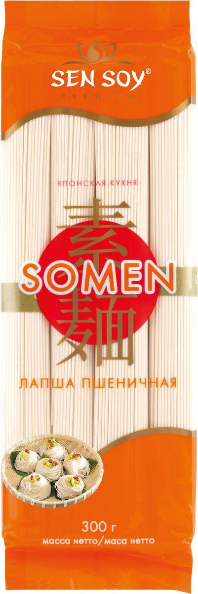 Sen Soy Лапша пшеничная Somen, 300 г