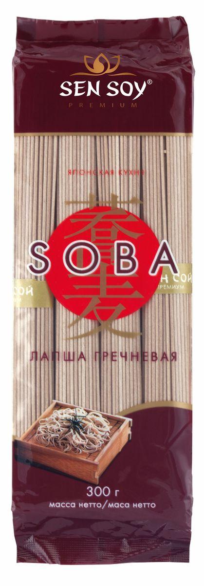 Sen Soy Лапша гречневая Soba, 300 г