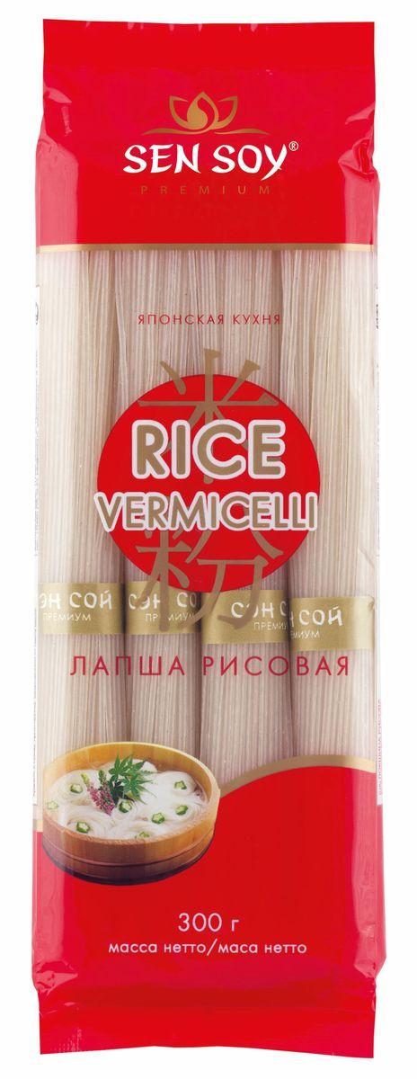 Sen Soy Лапша рисовая Rice Vermicelli, 300 г