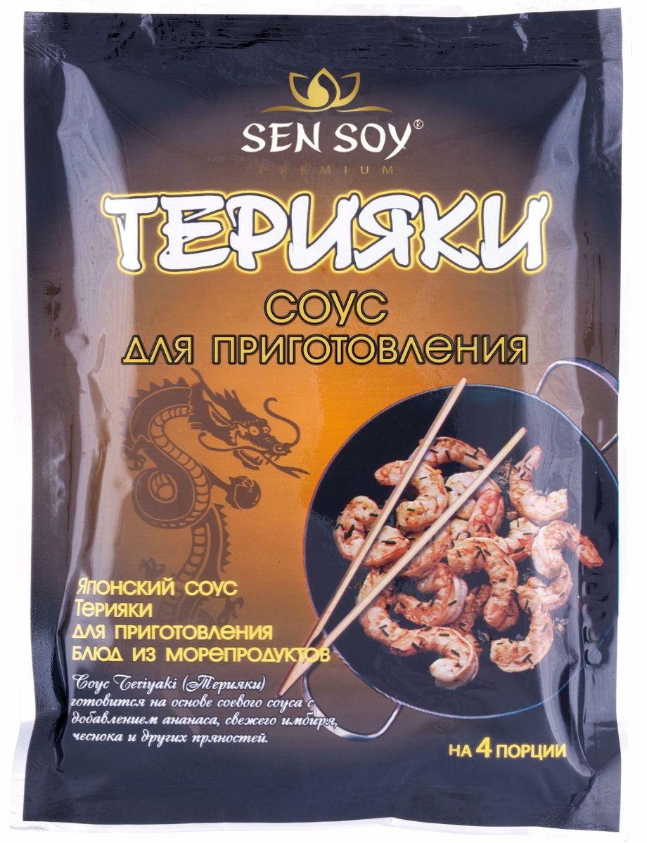 Sen Soy Соус Терияки, 120 г4607041133290Соус Teriyaki (Терияки) готовится на основе соевого соуса с добавлением сахара.Обладает приятным сладким вкусом.
