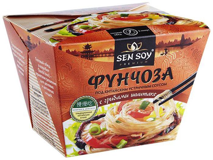 Sen Soy Вермишель фунчоза под китайским устричным соусом, 125 г
