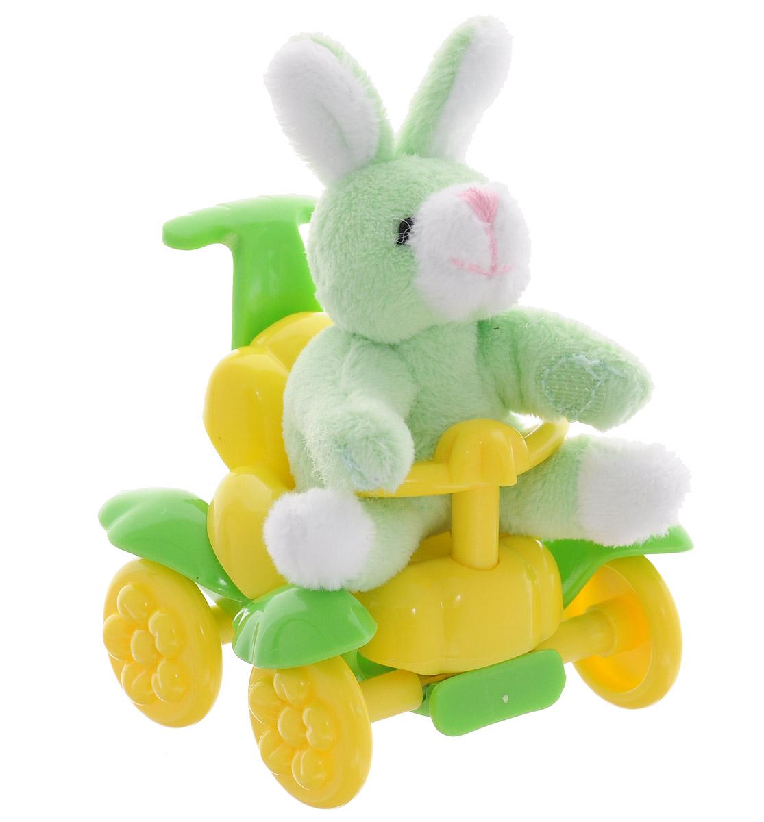 Beanzees Мягкая игрушка Кролик Boppy 6,5 смB32061Очаровательная мягкая игрушка Beanzees Кролик Boppy подарит своей владелице море позитивных эмоций. Кролика можно катать на каталке или играть с ним отдельно. Мягкие игрушки Beanzees - крошечные плюшевые животные. С помощью липучек на лапках зверюшек можно скреплять игрушки в браслеты и ожерелья или просто украсить комнату гирляндой из них. Животики фигурок заполнены гранулами, что делает их очень приятными на ощупь, развивает тактильные ощущения и помогает снять эмоциональное напряжение!