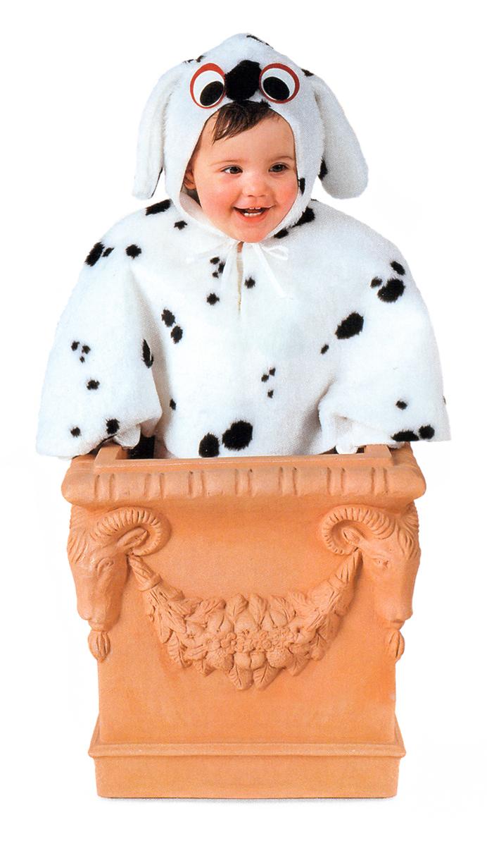 Rio Карнавальный костюм для мальчика Далматинец цвет белый черный размер 28 (3-4 года)103307Карнавальный костюм для праздничных и театрализованных мероприятий Ручная или деликатная стирка