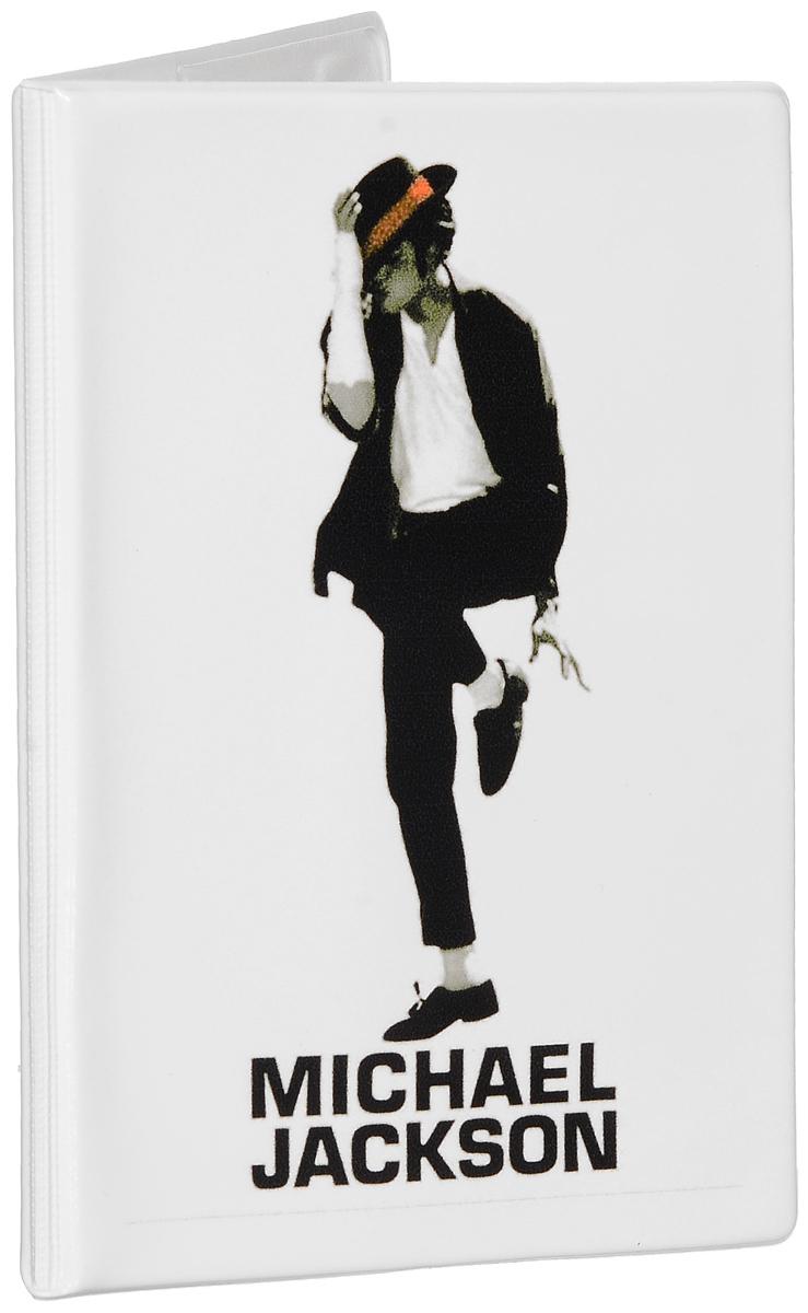 Обложка для паспорта Эврика Майкл Джексон, цвет: белый, черный. 9250592505Оригинальная обложка для паспорта Эврика понравится вам с первого взгляда. Она изготовлена из качественного ПВХ и оформлена оригинальным принтом. Внутри расположены прозрачные карманы для фиксации паспорта. Такая обложка не только поможет сохранить внешний вид вашего паспорта и защитить его от повреждений, но и станет стильным аксессуаром.