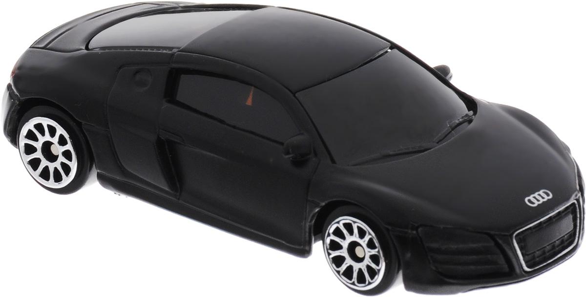 Uni-Fortune Toys Модель автомобиля Audi R8 V10 цвет черный344996SMМодель автомобиля Uni-Fortune Toys Audi R8 V10 - отличный подарок как ребенку, так и взрослому коллекционеру. Благодаря броской внешности, а также великолепной точности, с которой создатели этой модели масштабом 1:64 передали внешний вид настоящего автомобиля, модель станет подлинным украшением любой коллекции авто. Машина будет долго служить своему владельцу благодаря металлическому корпусу с элементами из пластика. Колеса машинки имеют свободный ход. Модель автомобиля обязательно понравится вашему ребенку и станет достойным экспонатом любой коллекции.