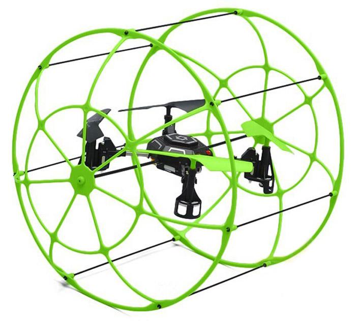 Junfa Toys Квадрокоптер на радиоуправлении Sky Walker цвет салатовый