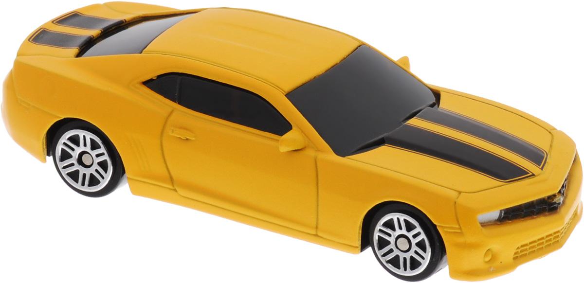 Uni-Fortune Toys Модель автомобиля Chevrolet Camaro цвет желтый344004SM(A)Chevrolet Camaro - одна из наиболее актуальных моделей, которая за счет безупречного качества сборки и интересного дизайна пользуется хорошим спросом. Модель автомобиля Uni-Fortune Toys Chevrolet Camaro будет отличным подарком как ребенку, так и взрослому коллекционеру. Благодаря броской внешности и великолепной точности машинка станет подлинным украшением любой коллекции авто. Модель выполнена в масштабе 1/64. Машина будет долго служить своему владельцу благодаря металлическому корпусу с элементами из пластика. Шины обеспечивают отличное сцепление с любой поверхностью пола. Модель автомобиля обязательно понравится вашему ребенку и станет достойным экспонатом любой коллекции.