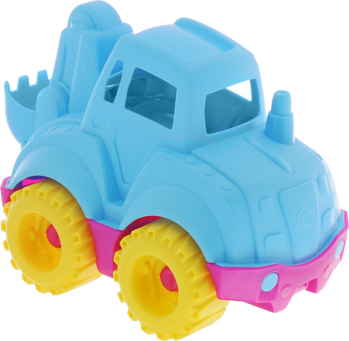 Нордпласт Трактор Шкода цвет голубойШКД11Трактор Нордпласт Шкода - это идеальный выбор для увлекательных игр на свежем воздухе или в помещении. Яркие и приятные цвета игрушки привлекут внимание ребенка. Колеса трактора имеют свободный ход, его можно катать по любой поверхности. Игры с этой машинкой способствуют развитию воображения, мышления, мелкой моторики рук и координации движений. Игрушка изготовлена из нетоксичного и качественного пластика, полностью безопасна для ребенка.