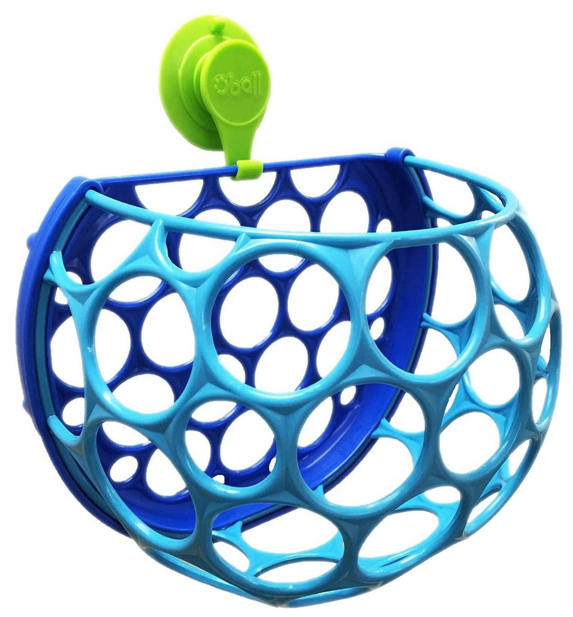 Oball Контейнер для игрушек в ванной10067С контейнером для игрушек в ванной Oball легко убирать и хранить игрушки после купания! Контейнер выполнен в виде мячика, вода легко выливается через его отверстия. Крепится к стене при помощи присоски, позволяя экономить место в ванной комнате. Отверстия помогают быстрее просушить игрушки и сократить возможность образования плесени. Контейнер изготовлен из мягкого и гибкого пластика, приятен на ощупь.