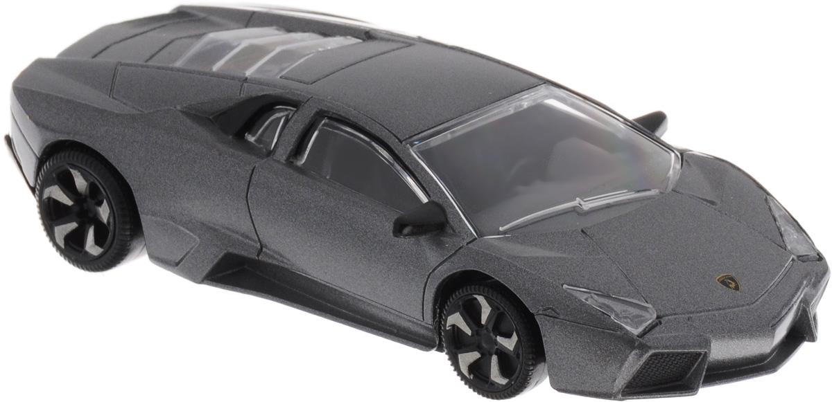 Rastar Модель автомобиля Lamborghini Reventon цвет серый металлик34900Модель автомобиля Rastar Lamborghini Reventon привлечет внимание как ребенка, так и взрослого коллекционера. Машинка является точной уменьшенной копией настоящего автомобиля в масштабе 1:43. Модель выполнена из металла с использованием пластика и оснащена резиновыми колесами, обеспечивающими хорошее сцепление с любой поверхностью пола. Колеса оснащены свободным ходом. Модель автомобиля Rastar Lamborghini Reventon станет отличным подарком и украшением любой коллекции!