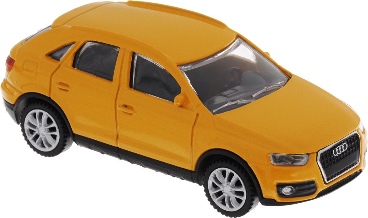 Rastar Модель автомобиля Audi Q3 цвет оранжевый58300Модель автомобиля Rastar Audi Q3 будет отличным подарком как ребенку, так и взрослому коллекционеру. Благодаря броской внешности, а также великолепной точности, с которой создатели этой модели масштабом 1:43 передали внешний вид настоящего автомобиля, машинка станет подлинным украшением любой коллекции автомобилей. Модель будет долго служить своему владельцу благодаря металлическому корпусу с элементами из пластика. Колеса машинки свободно вращаются. Модель автомобиля обязательно понравится вашему ребенку и станет достойным экспонатом любой коллекции.