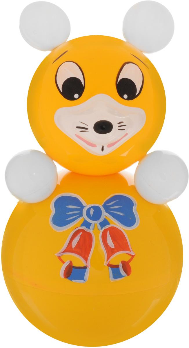 Завидов Неваляшка Мышка6С-004Неваляшка Завидов Мышка - это развивающая игрушка для малыша. Неваляшка выполнена в виде очаровательной мышки. Мордочка мышки вызывает улыбку, стоит только взглянуть на нее. Неваляшка всегда возвращается в вертикальное положение, забавно покачиваясь под приятный звук бубенчиков и развлекая малыша. Игрушка изготовлена из безопасного нетоксичного материала и украшена ручной росписью. Неваляшка развивает мелкую моторику, координацию, слух и цветовое восприятие.