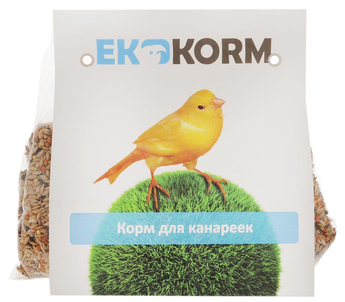 Корм для канареек Ekkorm, 400 г500304002Корм для канареек Ekkorm разработан с учетом потребностей канареек и особенностей их организма. Семена рапса являются источником белков и жиров, а также положительно влияют на рост и оперение птиц. Красное и желтое просо богато различными витаминами и микроэлементами, благотворно влияющими на обмен веществ и состояние костей канарейки. Семя льна улучшает качество оперения, укрепляет иммунитет и обладает успокаивающим свойством. Канареечное семя содержит массу питательных веществ и является одним из самых любимых канарейками продуктов. Товар сертифицирован.