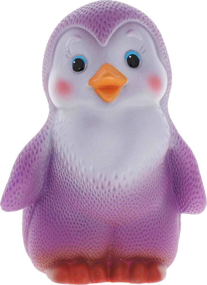 Огонек Игрушка для ванной Пингвиненок ЛолоС-817Игрушка для ванной Огонек Пингвиненок Лоло в точности повторяет внешний вид знаменитого пингвиненка из мультфильма. Этот милый пингвин изготовлен из ПВХ-пластизоли, поэтому играть с ним можно не только в комнате или на улице, но и в ванной, воспроизводя сцены из мультфильма или придумывая ему новые приключения, где пингвин смело путешествует между пенными глыбами льда. Игрушка подойдет для самых маленьких детей, так как изготовлена из высококачественных материалов, не имеет острых или твердых деталей и безопасна для здоровья.