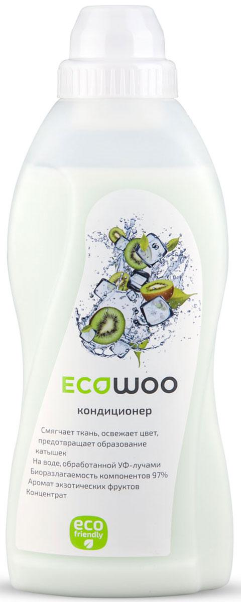 """Кондиционер-ополаскиватель для белья EcoWoo """"Экзотические фрукты"""", концентрат, 700 мл Е096267"""