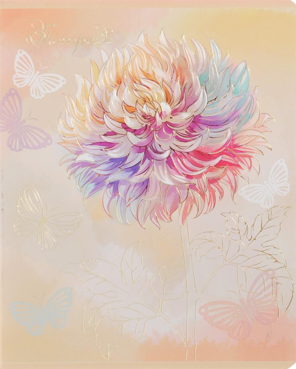 Феникс+ Тетрадь Нежные цветы 48 листов в клетку цвет бежевый34097_цветок2Тетрадь Феникс+ Нежные цветы подойдет для школьников, студентов и для различных записей. Обложка, выполненная из плотного картона, позволит сохранить тетрадь в аккуратном состоянии на протяжении всего времени использования. Лицевая сторона дополнена изображением цветка. Внутренний блок тетради, соединенный двумя металлическими скрепками, состоит из 48 листов белой бумаги. Стандартная линовка в клетку голубого цвета дополнена красными полями.