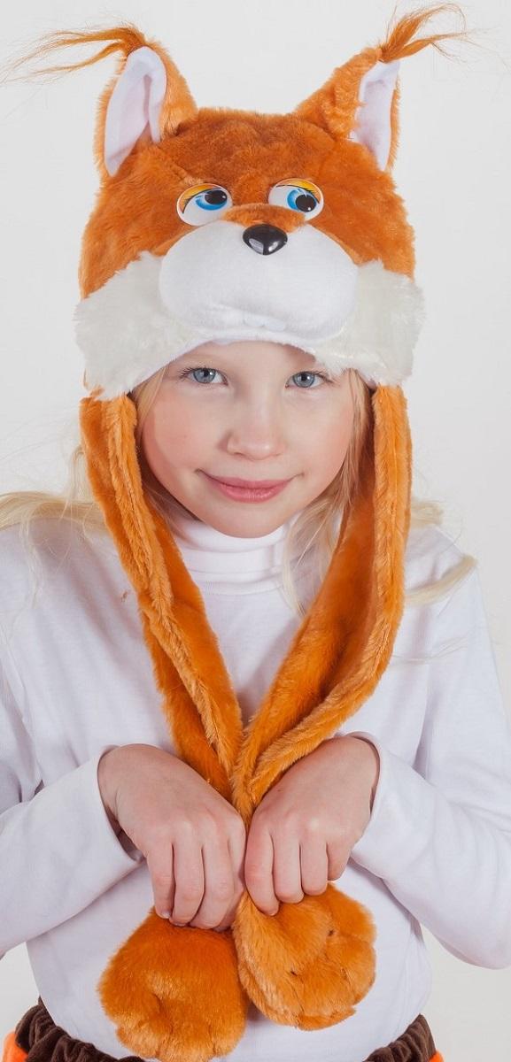 Карнавалия Карнавальный аксессуар для девочки Белочка цвет рыжий размер 54 9100191001