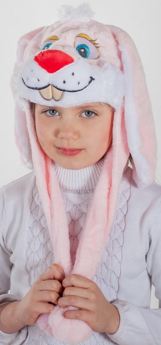 Карнавалия Карнавальный аксессуар для девочки Зайка цвет розовый размер 5490015