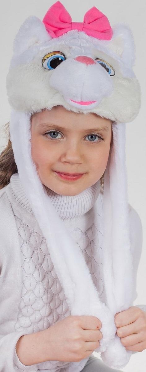 Карнавалия Карнавальный аксессуар для девочки Кошечка цвет белый размер 5491024