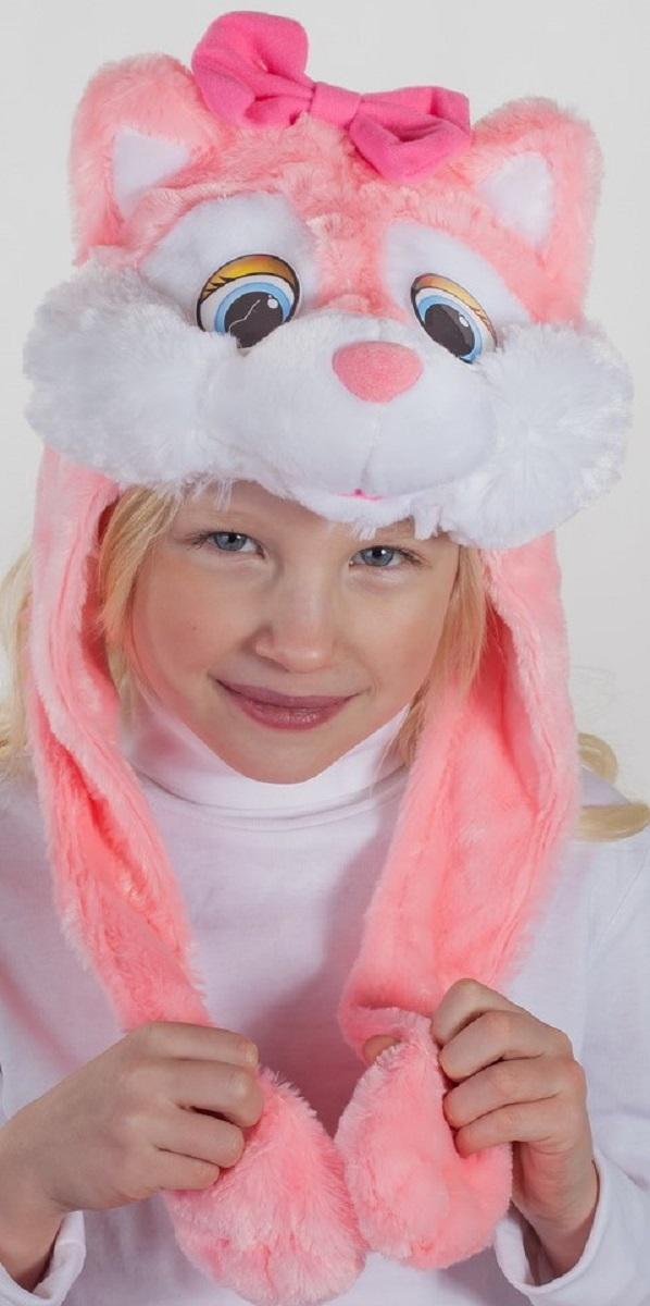 Карнавалия Карнавальный аксессуар для девочки Кошечка цвет розовый размер 5491025