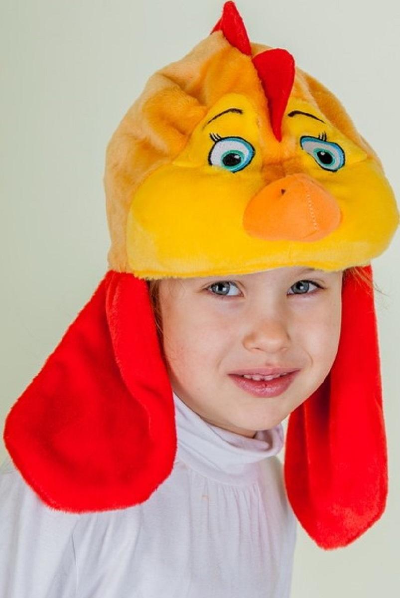 Карнавалия Карнавальный аксессуар для девочки Курочка цвет рыжий размер 5490029